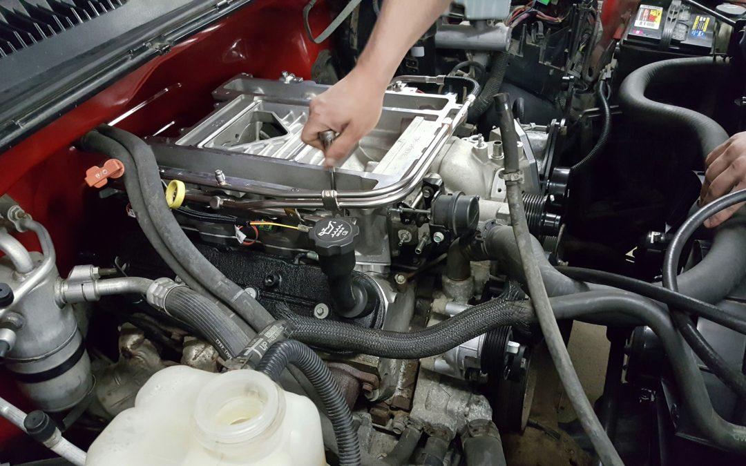 2004 Silverado LSA Supercharger Build